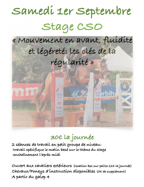 Stage CSO Angers